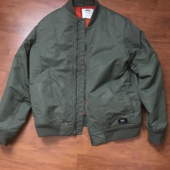 737c398cb94 Vans bomber jacket. M 5a4fbc9f31a37601d901153c